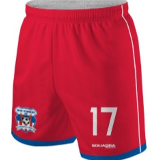 HEAT STRIKERS Player Game Shorts, Red (Away)