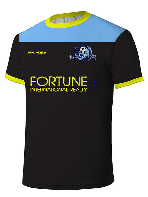 Breakers FC GK Game Jersey Black