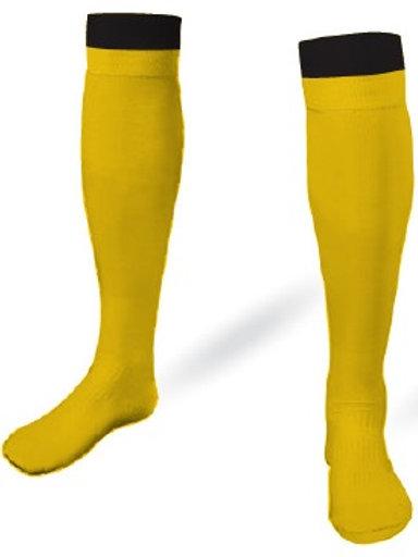 B1USA Player Game Socks Gold-Black