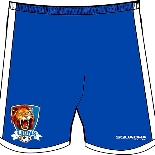 Naples Lions Player Game Shorts Blue