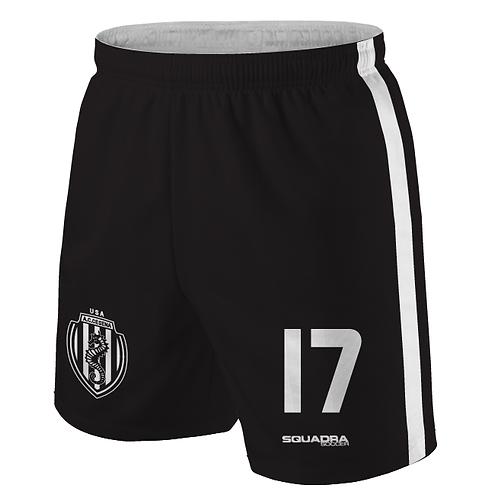 Cesena Game Shorts, Black
