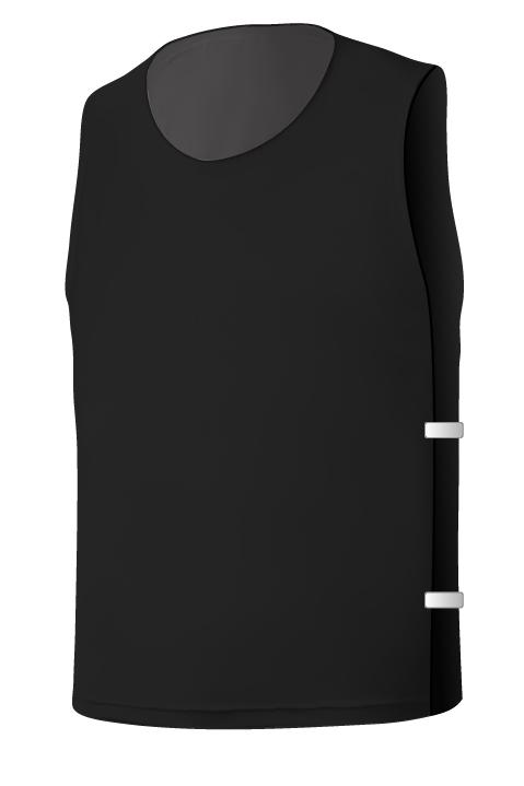 SQ Training Bib - Black Blank with Elastic