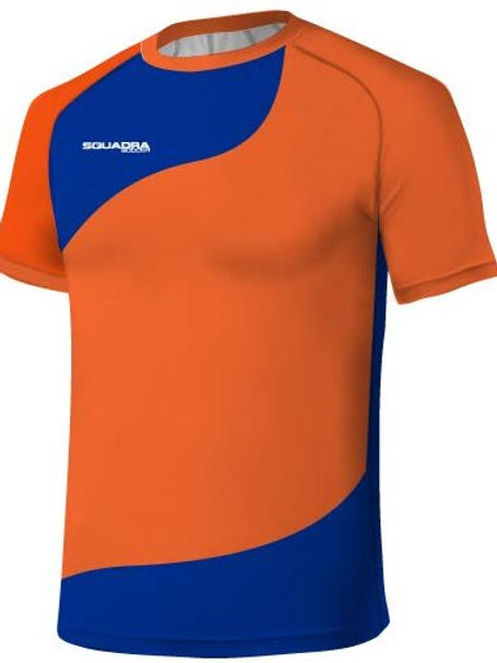 Orange / Royal Blue Jersey