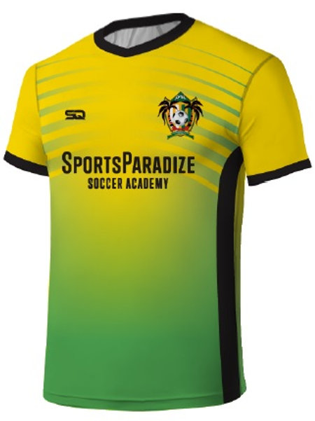 SPSA Player Game Jersey Gold-Green