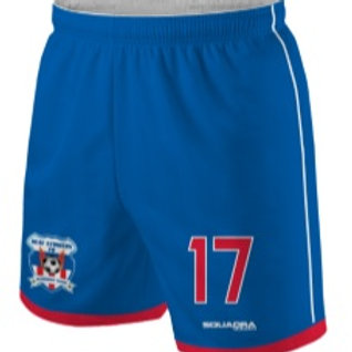 HEAT STRIKERS Player Game Shorts, Blue (Home)