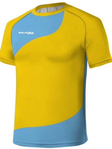 Yellow / Baby Blue Jersey