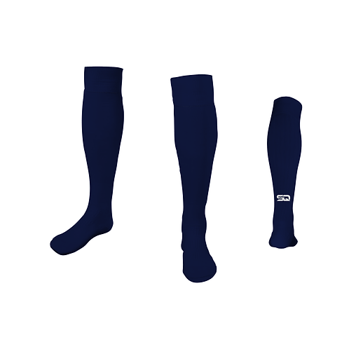 SQ Athletic Socks - AM Navy (Pack of 6)