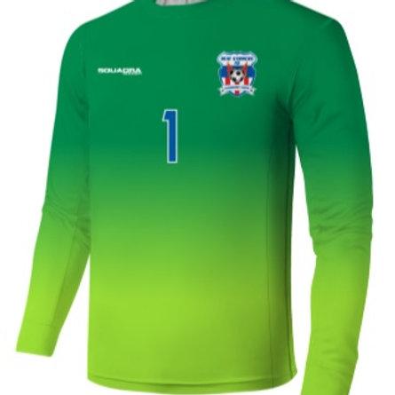 HEAT STRIKERS GK Game Jersey Green/Lime (Away)