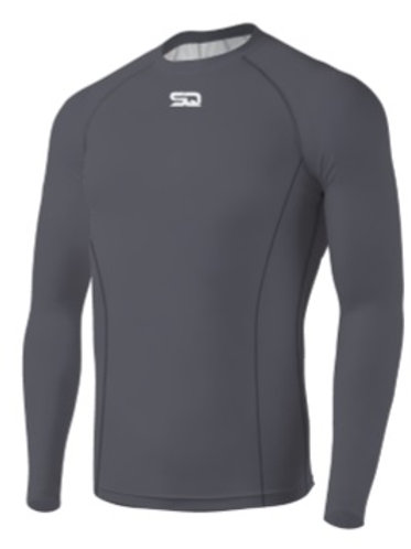 SQ Compression Jersey Long Sleeve Grey