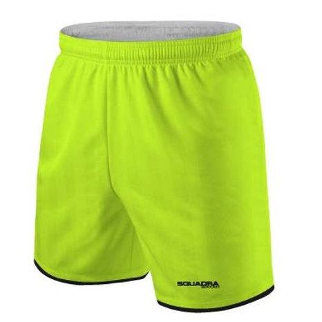 Neon Yellow Game Shorts