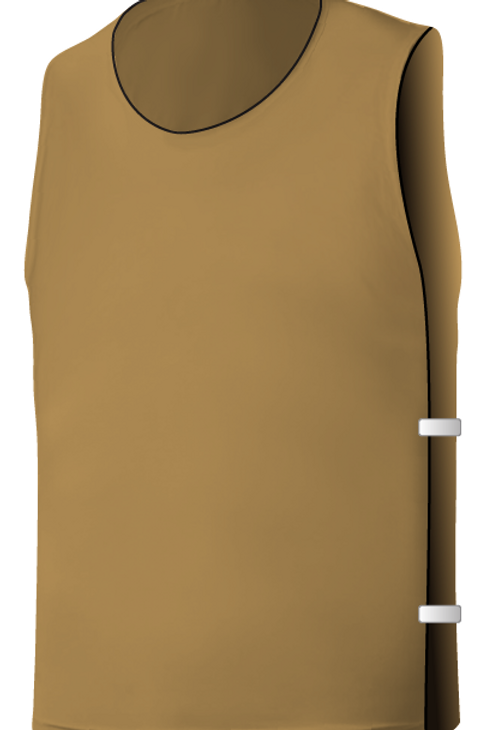 SQ Training Bib - Vegas Gold Blank with Elastic