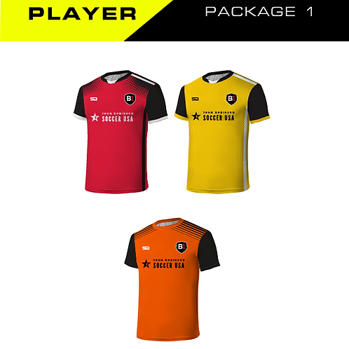B1USA Player Package 1 (Tops)