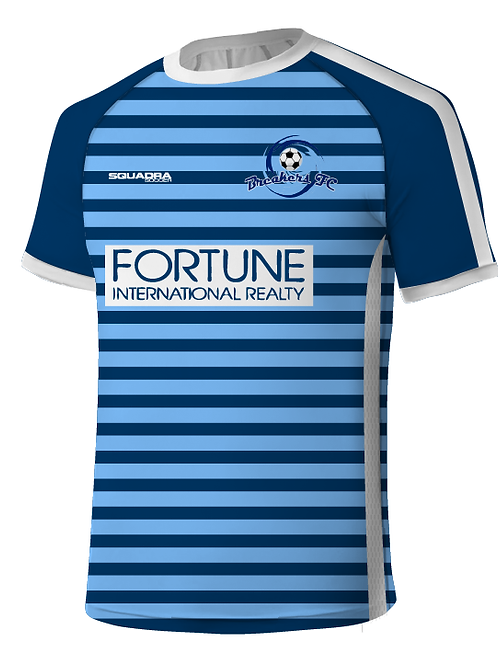 Breakers FC Player Jersey Navy