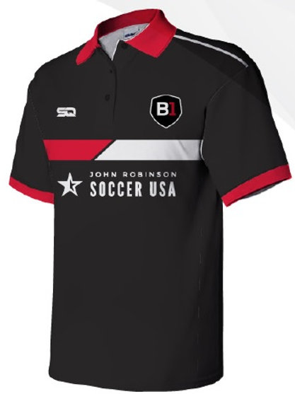 B1USA Polo Black