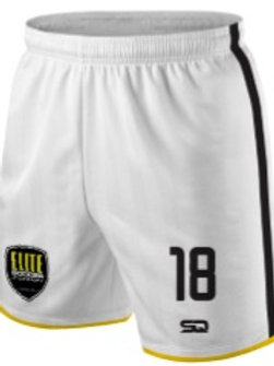 JRS-ESA Game Shorts White-Black