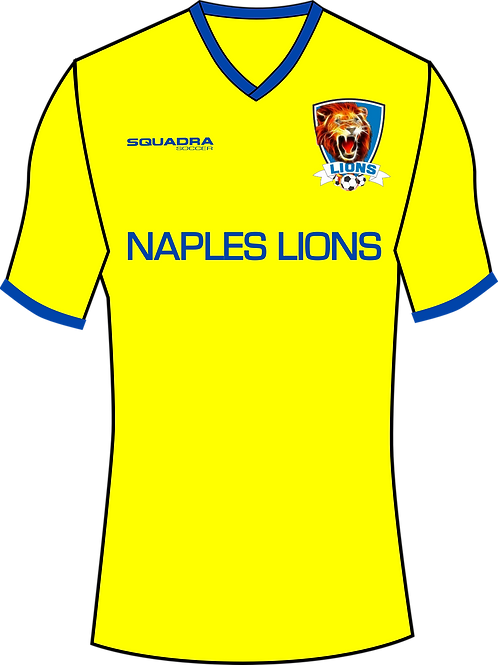 Naples Lions Player Training Jersey Yellow