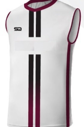 YOUR CLUB Sleeveless Player Game Jersey White