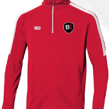 B1USA Track Jacket Red