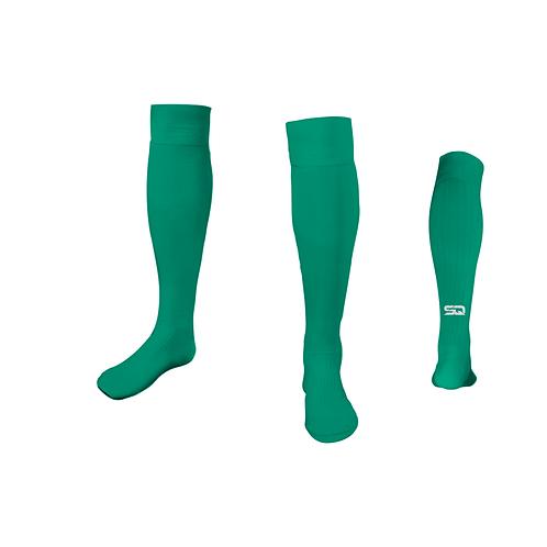 SQ Athletic Socks - 429 VJ Turquoise (Pack of 6)