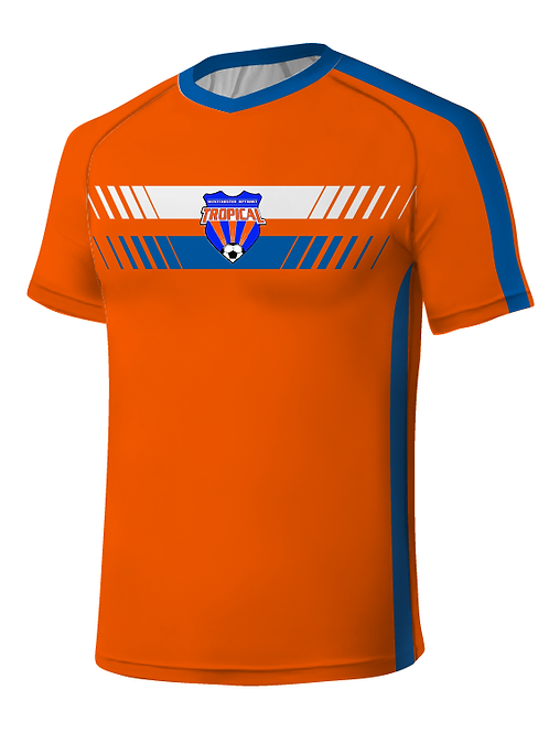 TROPICAL SOCCER Player Game Jersey Orange