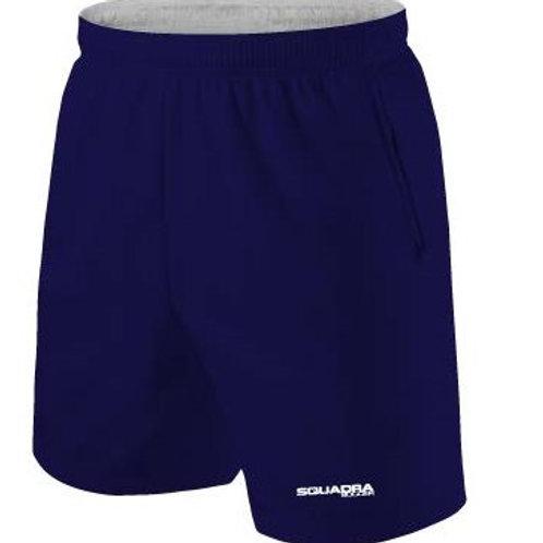 Navy Shorts with Pockets