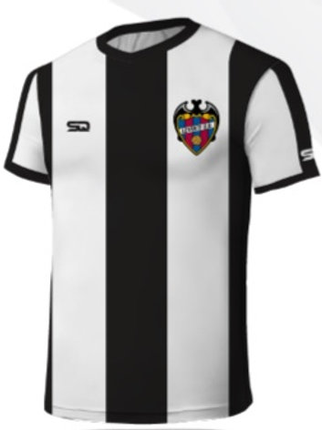 LEVANTE-UD Game Jersey Black-White + Free Jersey