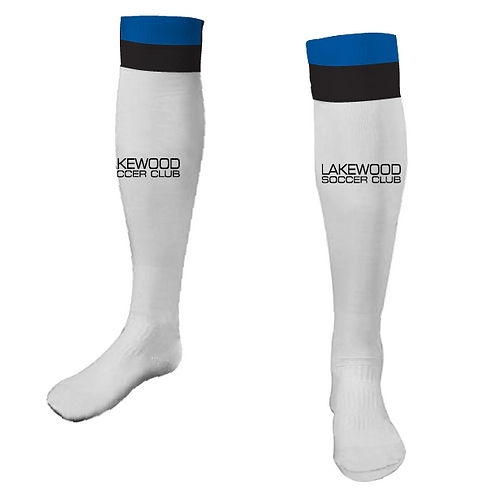 Lakewood Game Socks White