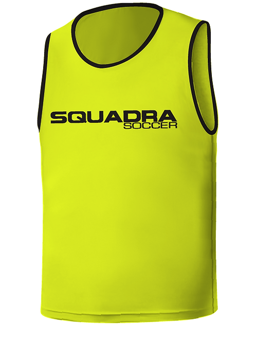 SQ Training Bib - Neon Yellow