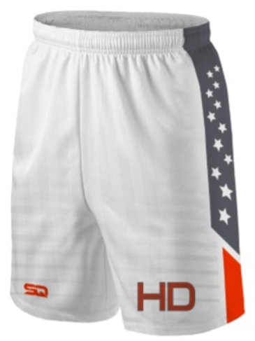 HD Game Shorts White