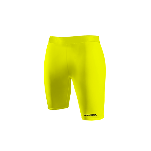 SQUADRA Compression Shorts Neon Green