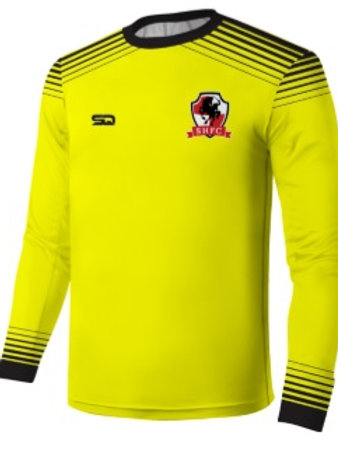 SHFC Goal Keeper Jersey Yellow-Black