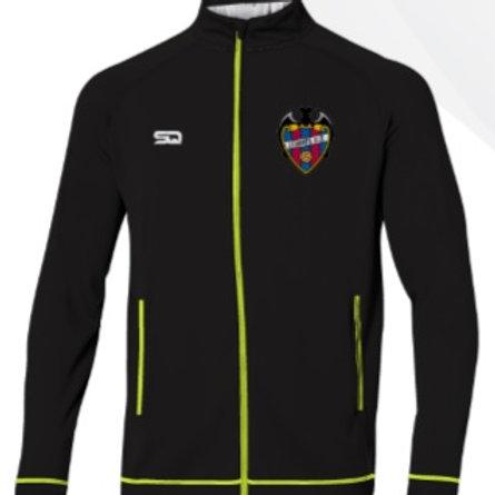 LEVANTE-HD Track Jacket Black-Neon