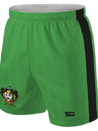 SPSA Player Game Shorts Green