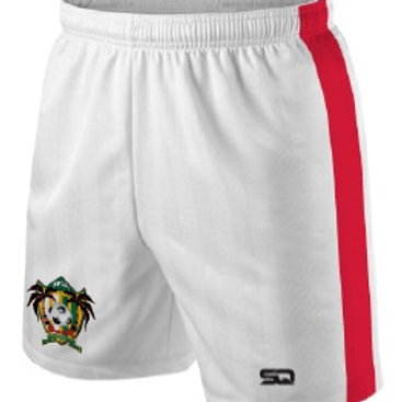 SPSA Player Game Shorts White