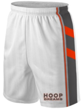 Hoop Dream Game Shorts White