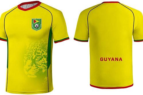Guyana Jaguars Jersey Yellow