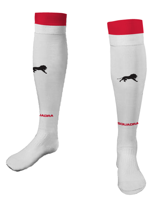 Elite SA Game Socks White (Home)