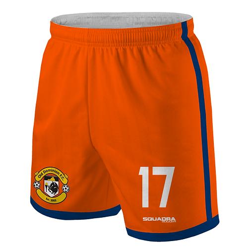 ODFC Orange Game Shorts