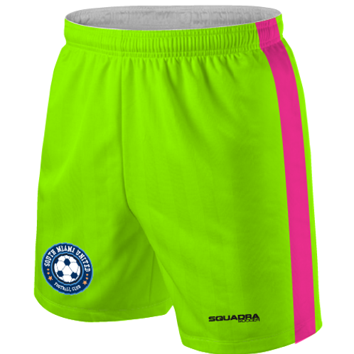 SMUFC 2017 Game Shorts Lime