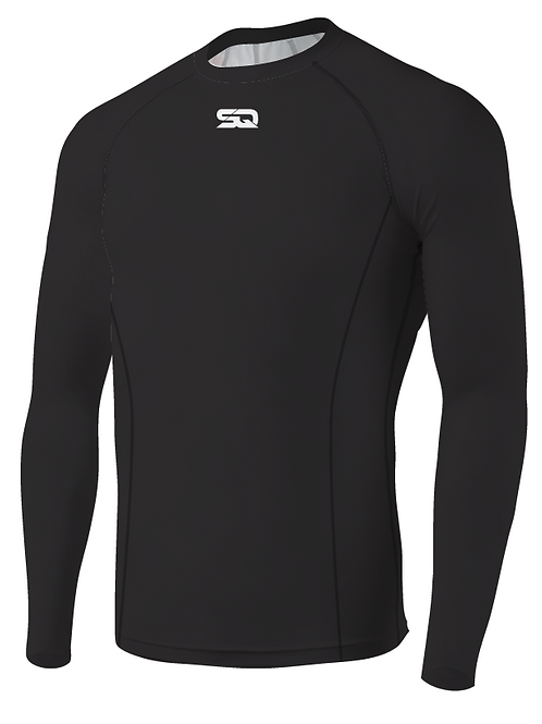 SQ Compression Jersey LS Black