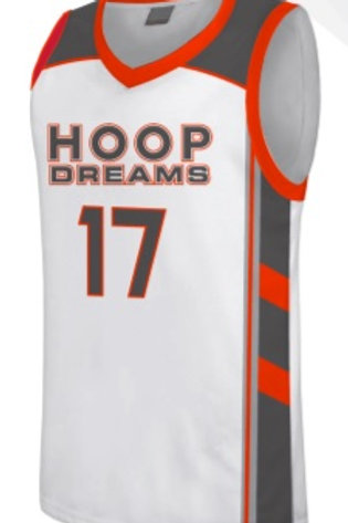 Hoop Dream Game Jersey White
