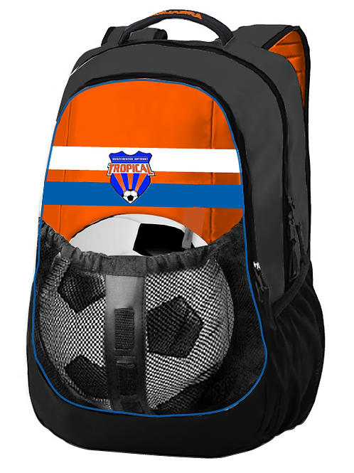 TROPICAL SOCCER Backpack (Ball not included)