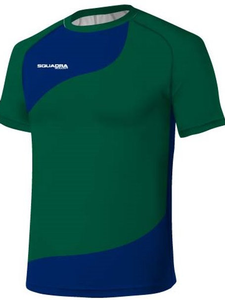 Green / Royal Blue Jersey