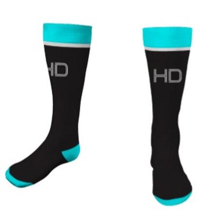 HD Vice Socks Black