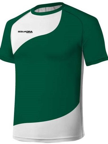 Dark Green / White Jersey