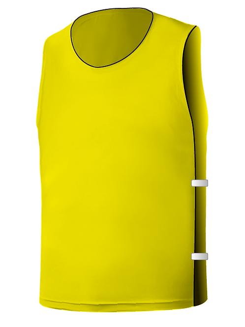 SQ Training Bib - Yellow Blank with Elastic