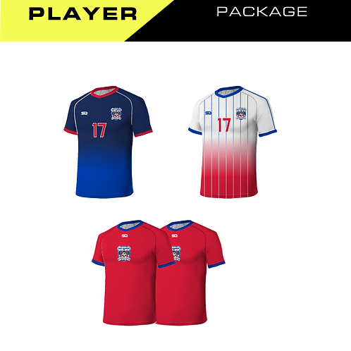 Heat Strikers Player Package (Tops)