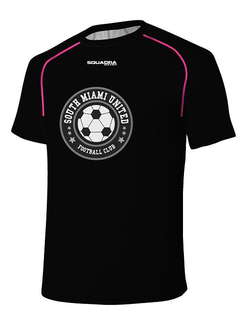 SMUFC Training Jersey Black