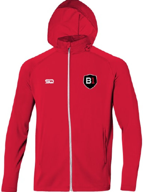 B1USA Rain Jacket Red