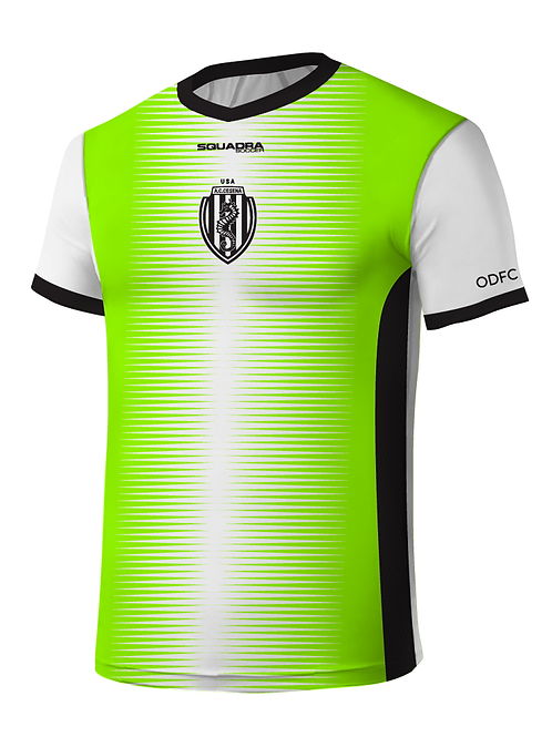 Cesena Game Jersey, Neon Yellow